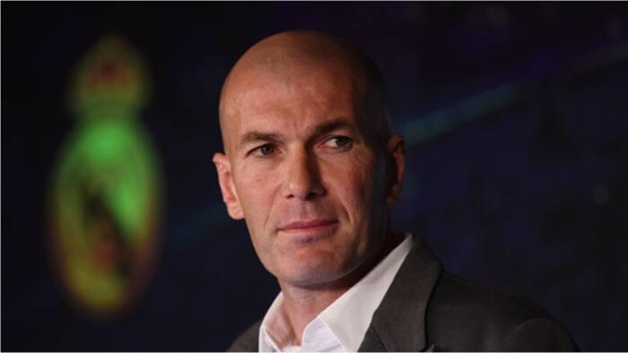 Former Real Madrid manager Zinedine Zidane responds to Newcactke United managerial advances