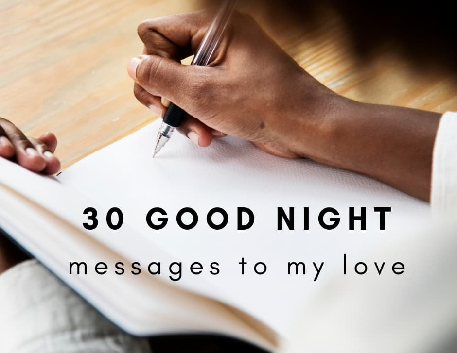 Top 30 good night message to my love ▷ Legit ng
