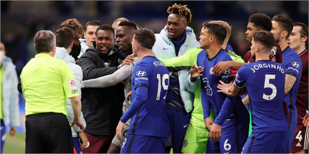 Chelsea Star's Wife 'Attacks' Leicester City Defender After Touchline Scuffle