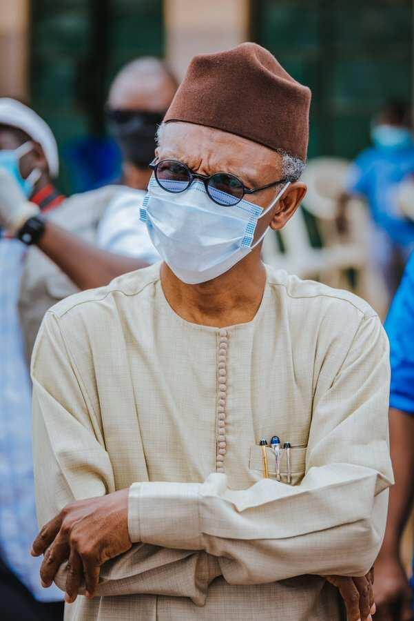 Governor El-Rufai in Kaduna