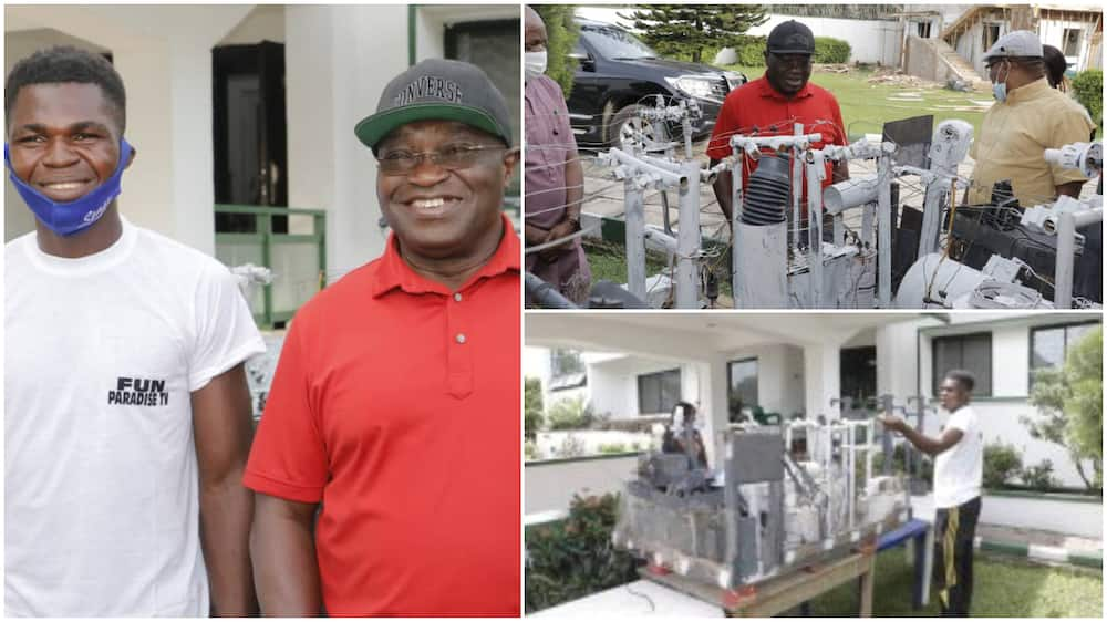 24-year-old Nigerian man who built transformers powered with crude oil gets scholarship