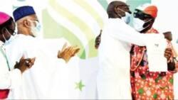 No to violence: Obaseki, Ize-Iyamu sign peace pact as INEC pledges neutrality