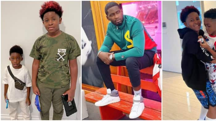 I make beautiful kids: Tiwa Savage's ex Teebillz brags about his genes as he shares cute photos of his sons