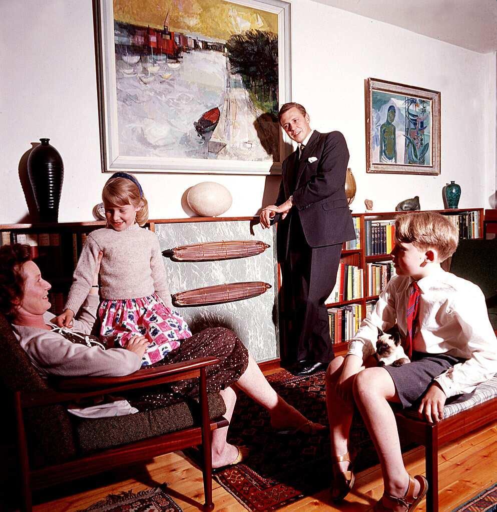 David Attenborough family