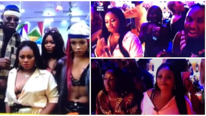 BBNaija 2021: Housemates rep their styles as they turn up at first Saturday night party