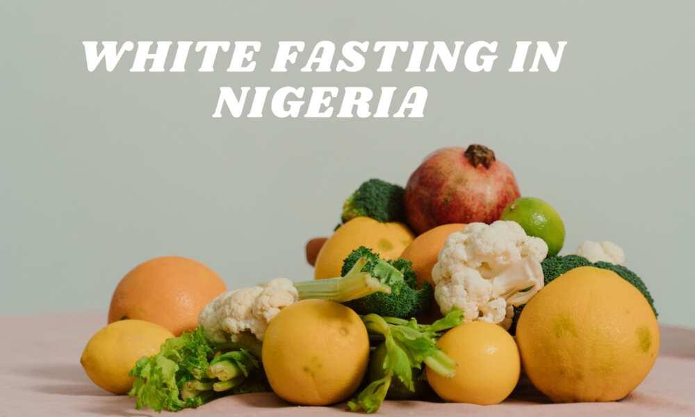 white fasting