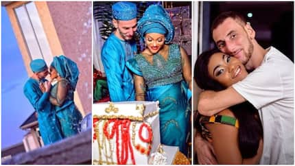 Stunning wedding photos of Nigerian bride and her oyinbo groom