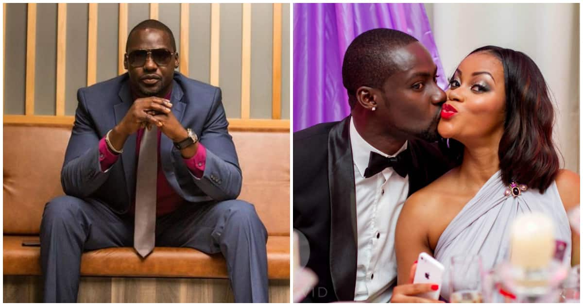 Ghanaian actor Chris Attoh stylishly shades ex-wife Damilola in New Year post