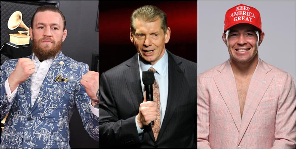 Donald Trump: McGregor, McMahon, Covington are among sports personalities supporting Mr, president