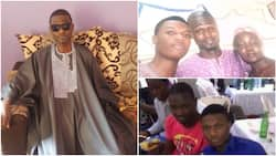 Wizkid's childhood friend from Ijebu reaches out to him, shares photos