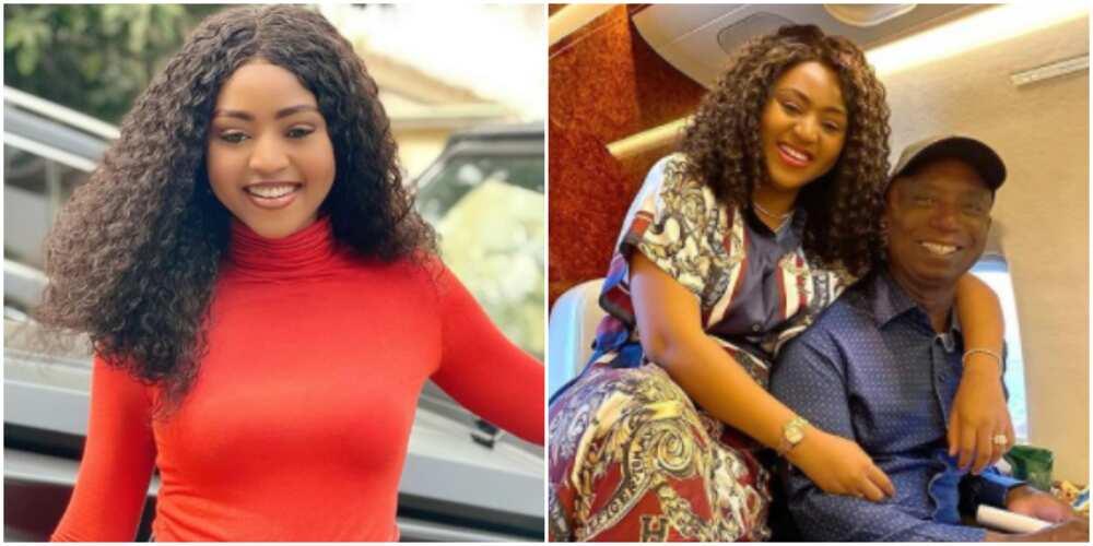You better Divorce your Grandfather and Marry Fresh Boy: Man Advises Actress Regina Daniels, Nigerians React