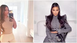 Kim Kardashian trolled by hairdresser after falling asleep in hilarious place