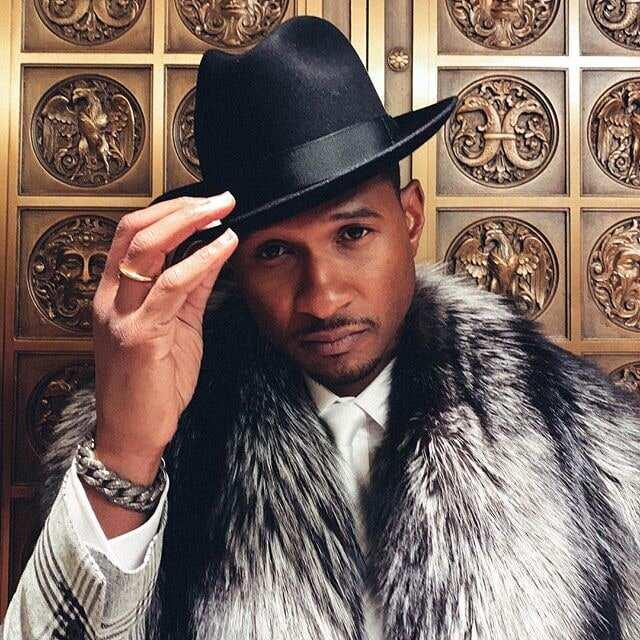 Singer Usher shares first photo of newborn daughter Sovereign