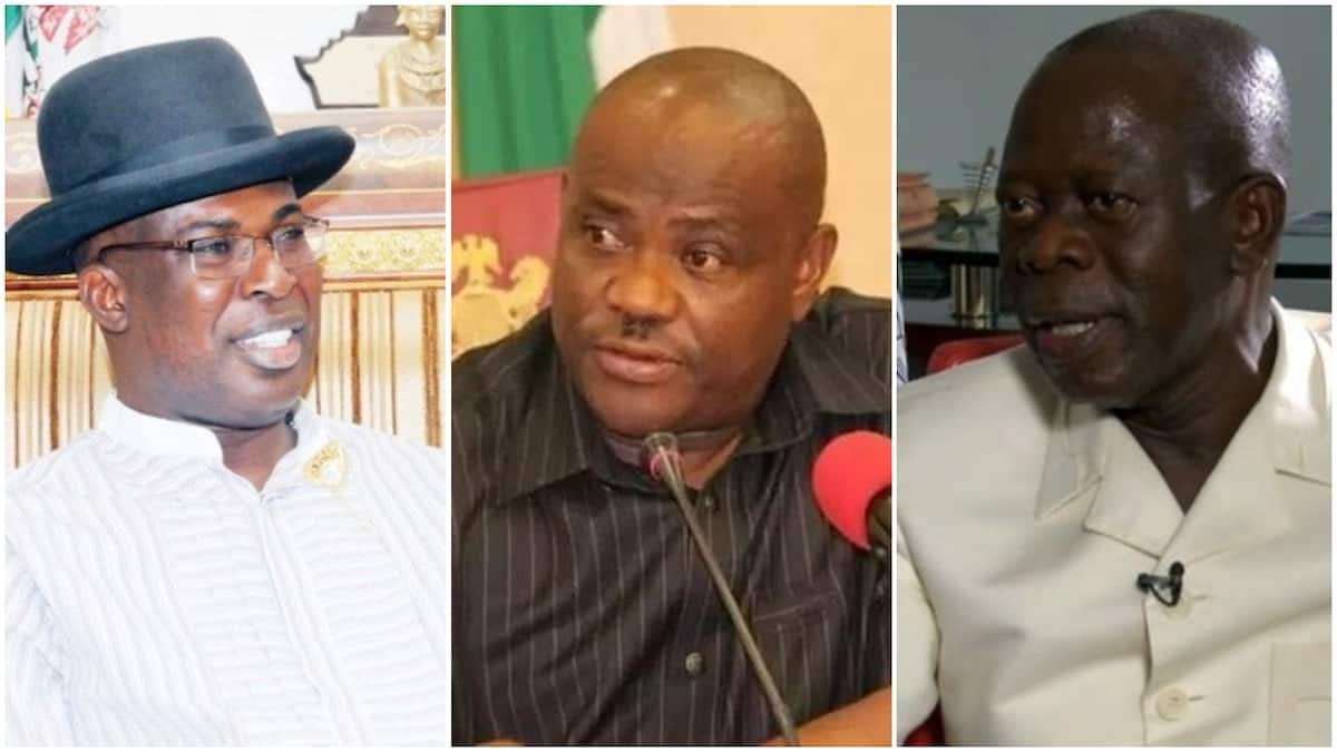Rivers govt warns Oshiomhole, Sylva over protest at Justice Odili's residence