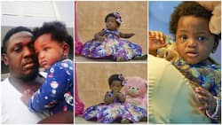 Your mum's water broke at 6 months - Rapper Illbliss marks daughter's first birthday, shares amazing testimony
