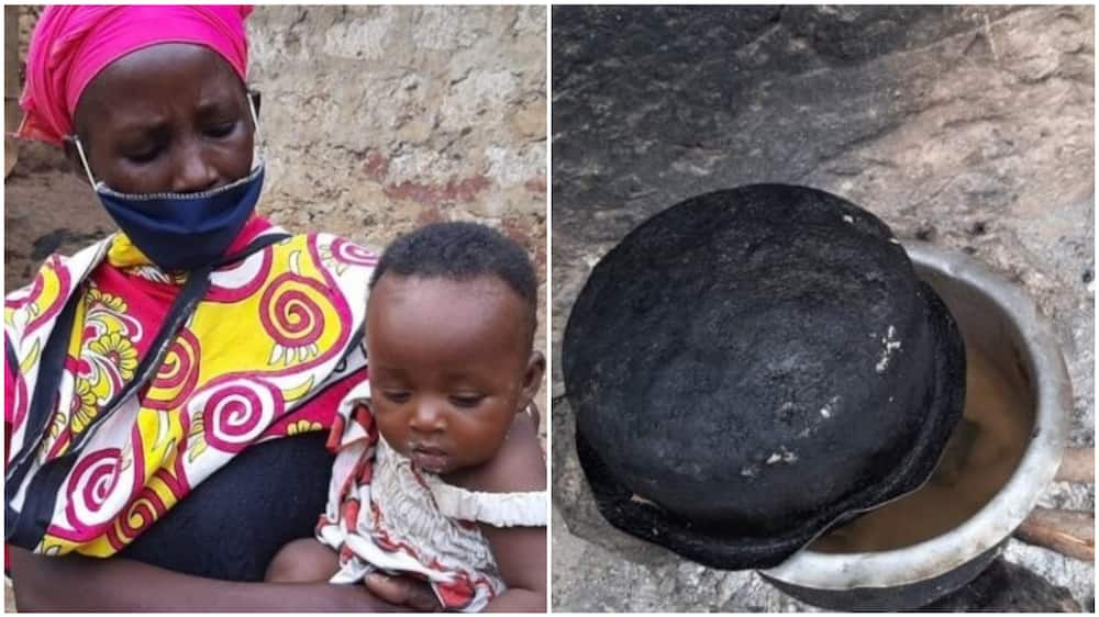 The woman said she did that so as to make the children fall asleep. Photo source: BBC