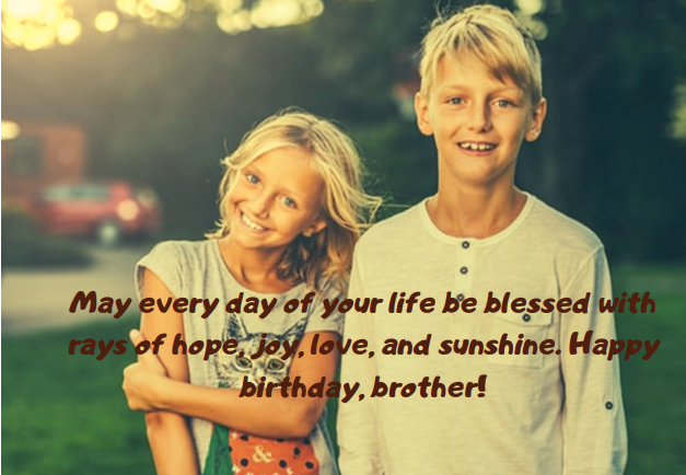 Fabulous Birthday Wishes To A Brother 70 Touching Ideas Legit Ng Personalised Birthday Cards Bromeletsinfo
