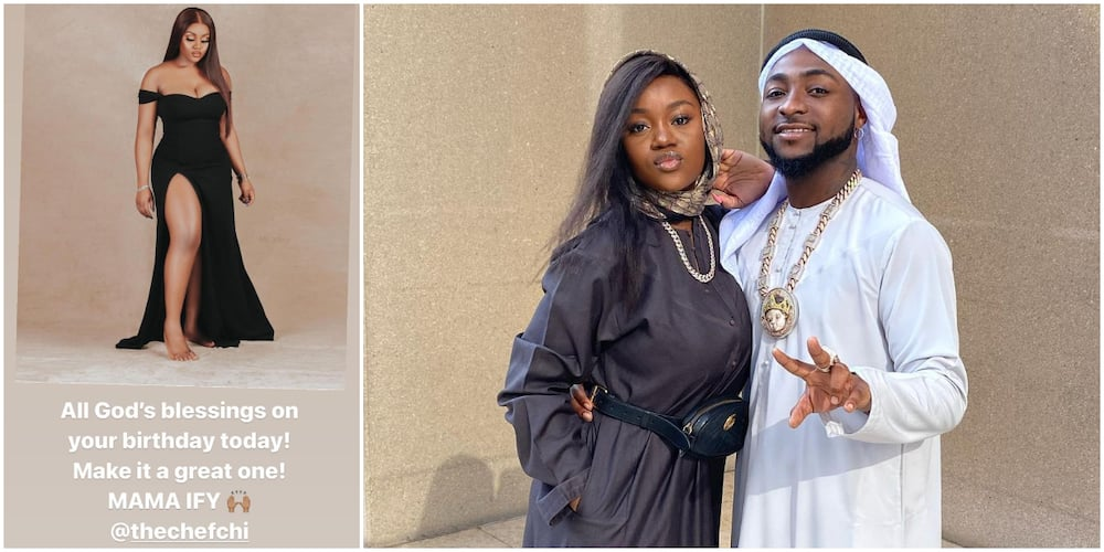 Chioma at 26: All God's Blessings on Your Birthday, Davido Writes, Calls Her Mama Ify