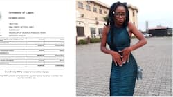 Nigerian lady appreciates Good Samaritans who donated to help her stay in school, many react