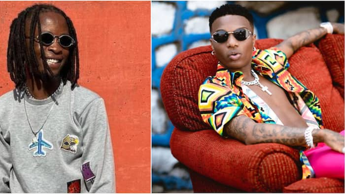Who BBNaija reunion help? Laycon's fans excited as video shows rapper in Wizkid's apartment