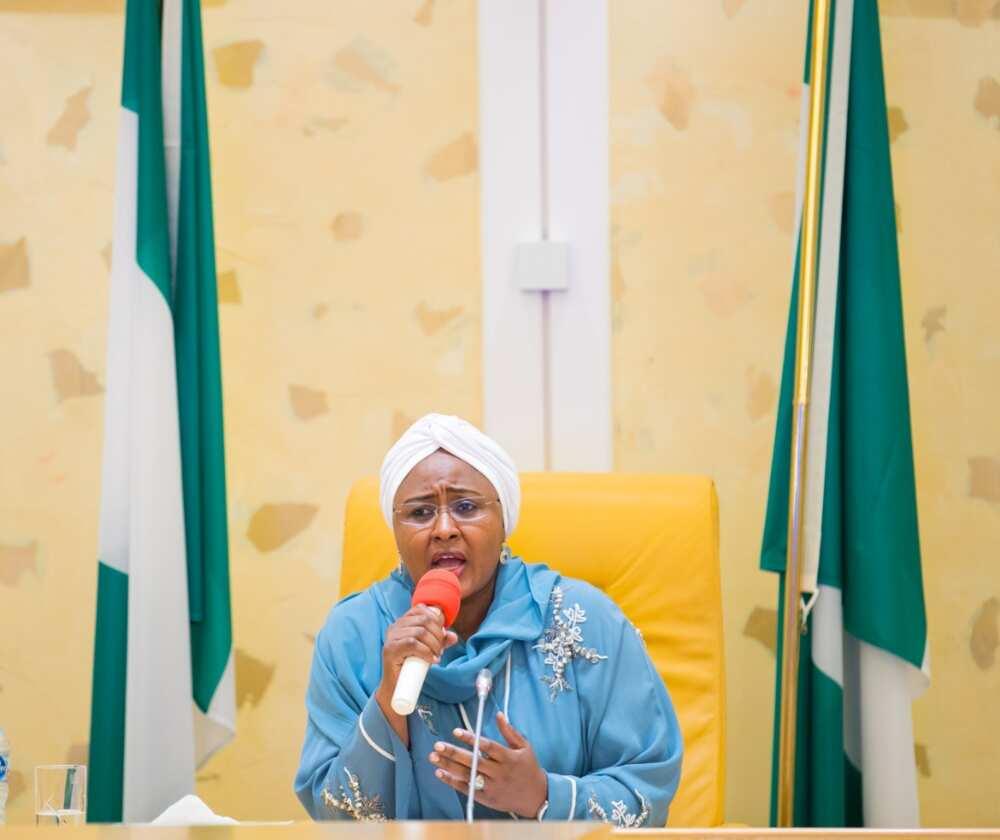 Presidential aide says Aisha Buhari travelled abroad for medical checkup
