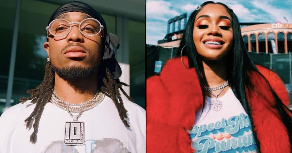 Quavo denies physically hurting Saweetie after video circulates on social media
