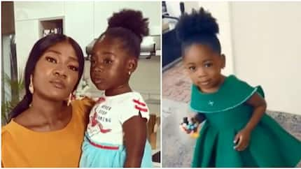 Actress Mercy Johnson marks daughter's 3-year-old birthday with cute video