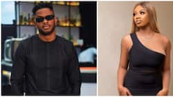 BBNaija: Reactions as Cross says Angel is type that walks out of a marriage after 2 days