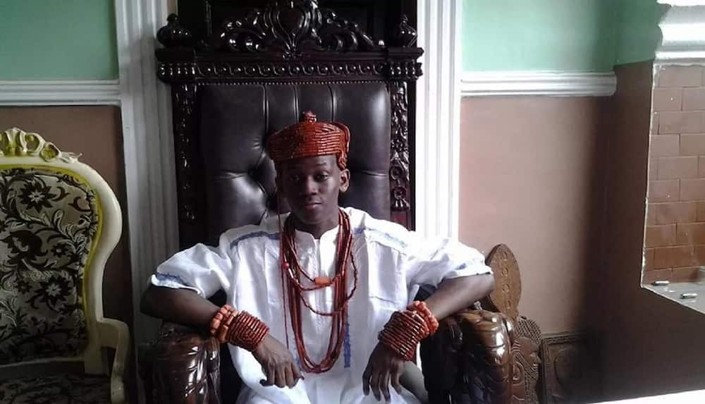 The youngest king in Nigeria from Delta State ▷ Legit ng