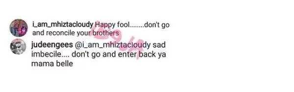 Clap back! Jude Okoye slugs it out with a troll on Instagram
