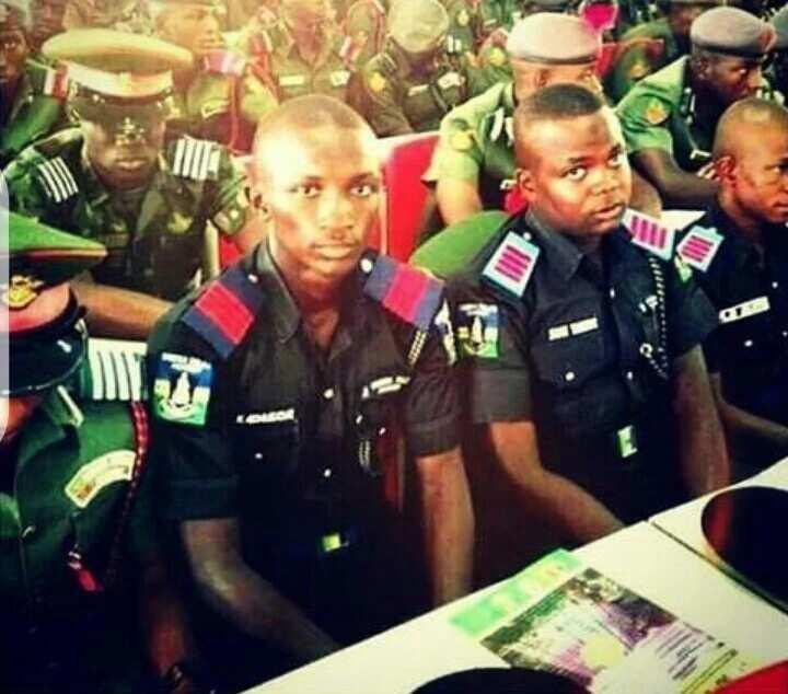 Nigeria Police Academy cadets