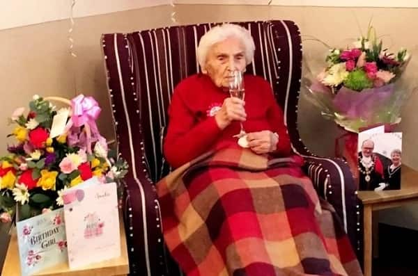105-year-old nurse who lived through both World Wars says secret to longevity is to stay single