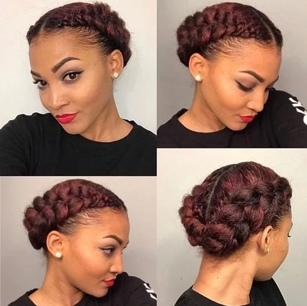 Groovy Top 30 Black Natural Hairstyles For Medium Length Hair In 2019 Natural Hairstyles Runnerswayorg