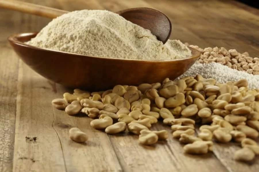 How to make beans flour at home?