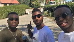Super Eagles star Iheanacho shows his 'shaku shaku' moves after Iwobi and Ola Aina were spotted doing the dance