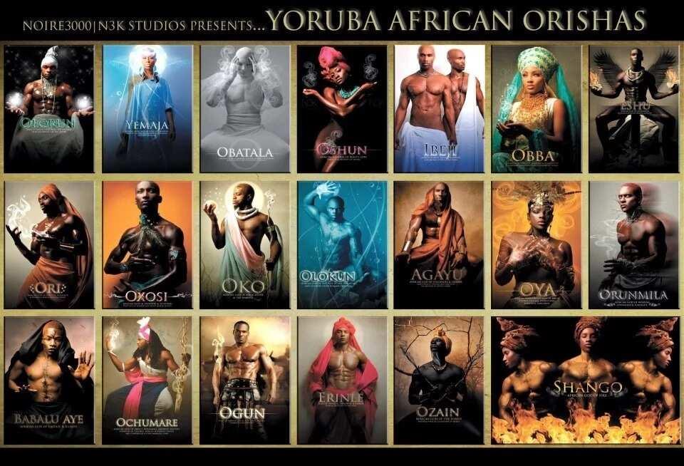 Orisha or Orisa Yoruba