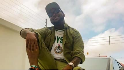 Has Davido broken the law by leaving his NYSC camp? Leaves camp for tour in America