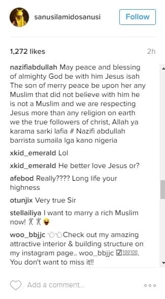 Emir of Kano publicly declares love for Jesus Christ