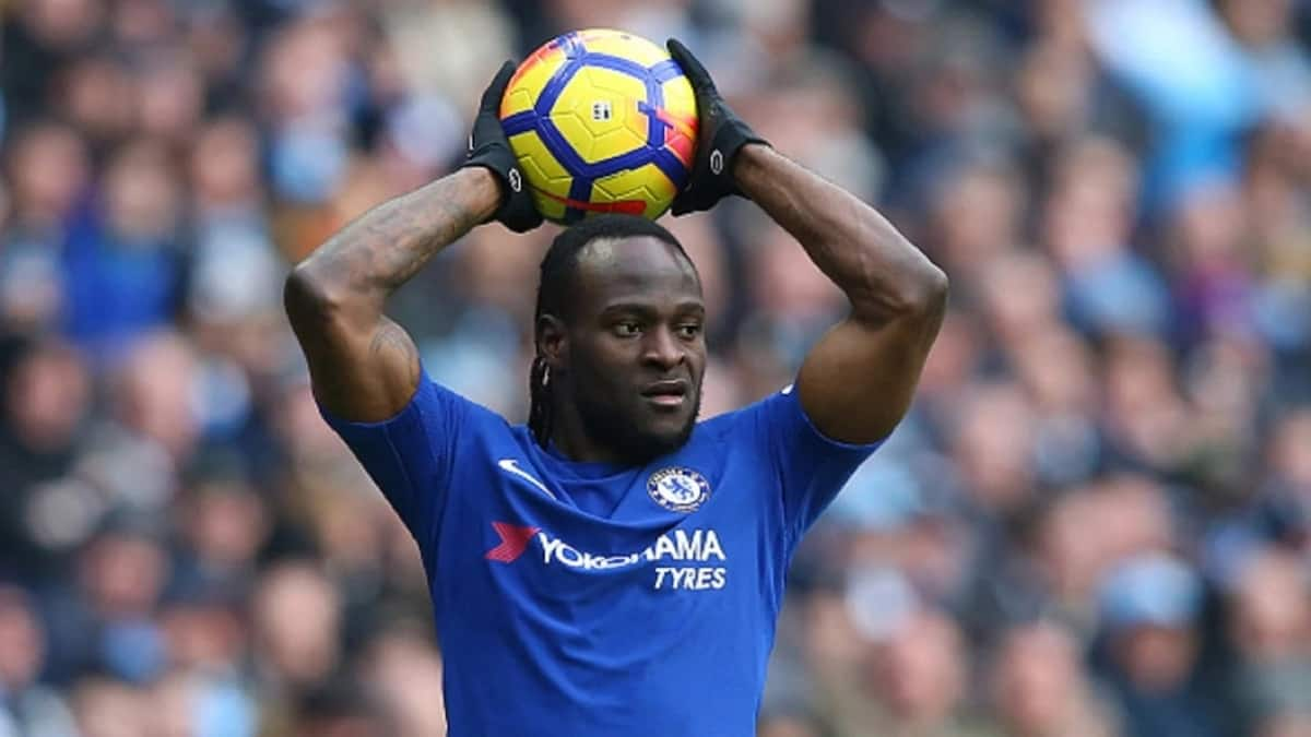 Victor Moses in Chelsea