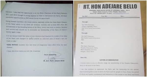 Osun House of Assembly ex-speaker Adejare Bello leaves PDP