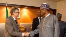 Shugaba Buhari ya karbi bakuncin Bill Gates da Aliko Dangote domin walima a Aso Rock