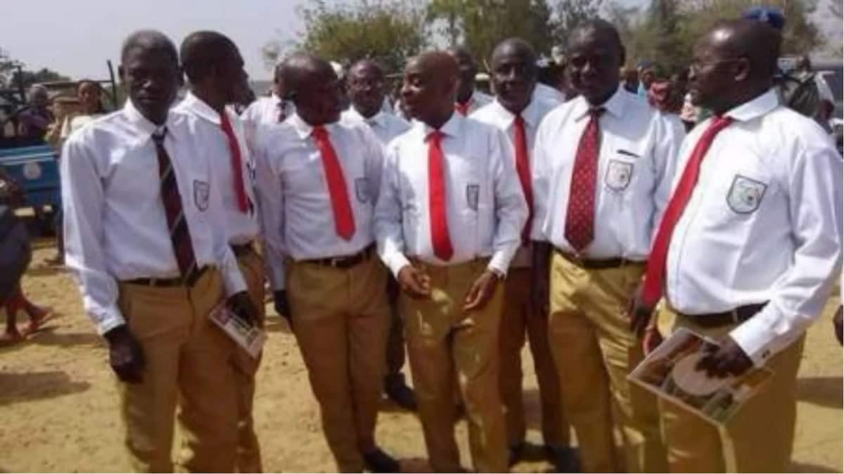 Bishop Oyedepo pictured in his secondary school old school uniform
