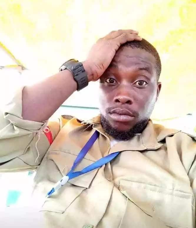 26-year-old corps member