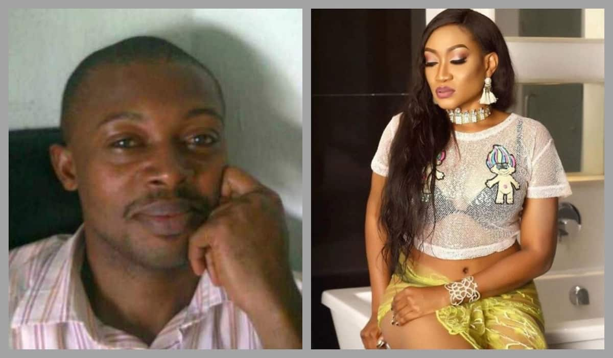Oge Okoye and ex-husband