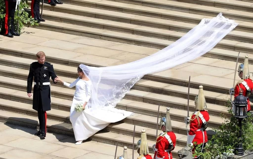 12 absolutely stunning photos from Prince Harry and Princess Meghan's nuptials