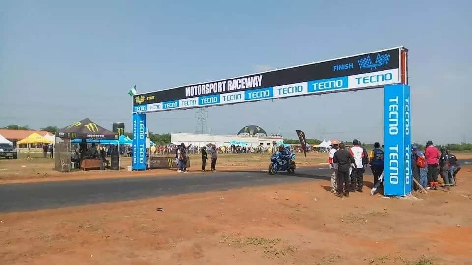 TECNO Mobile sponsors the first ever superbike and motor racing championship