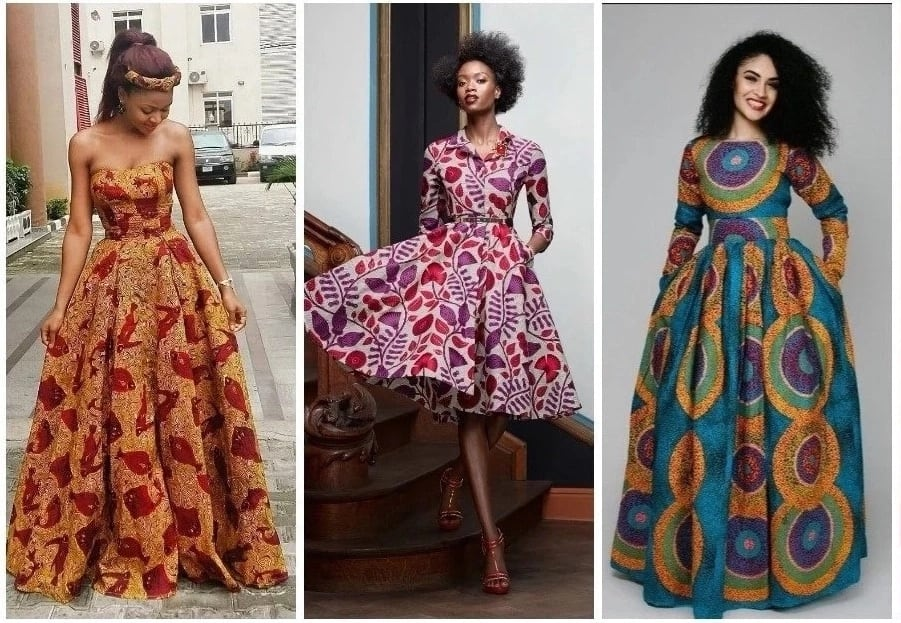 Ankara gowns for solemn events