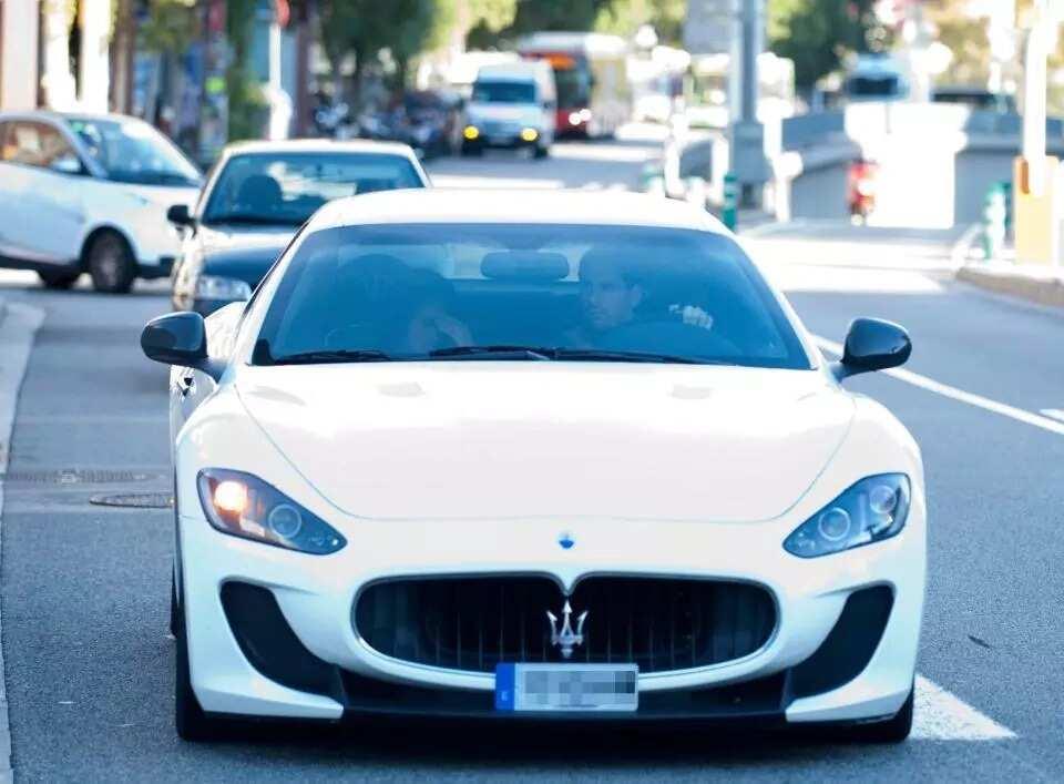 Lionel Messi Maserati car