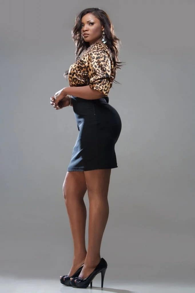 Omotola Jalade hot actress