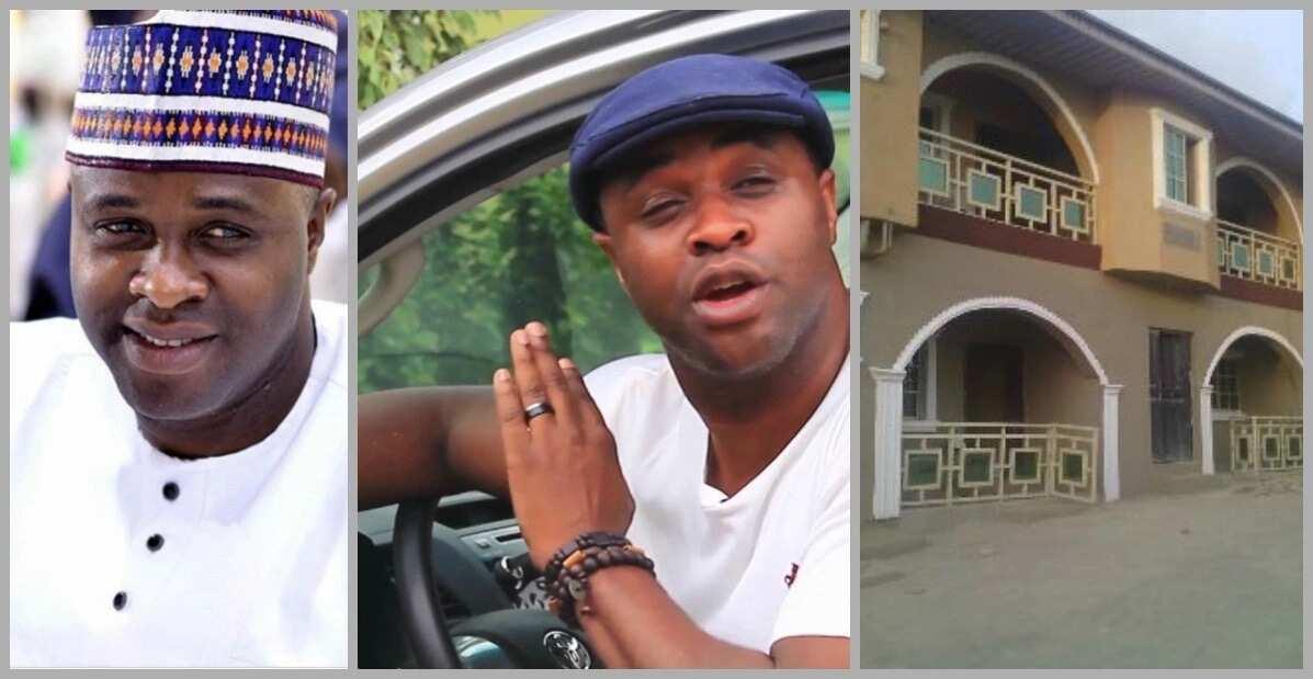 Actor Femi Adebayo house and cars
